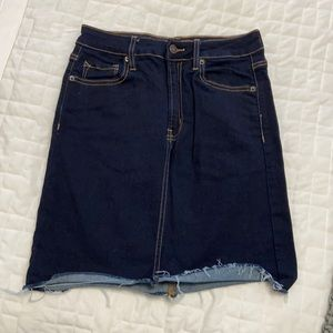 Hidden Jean skirt